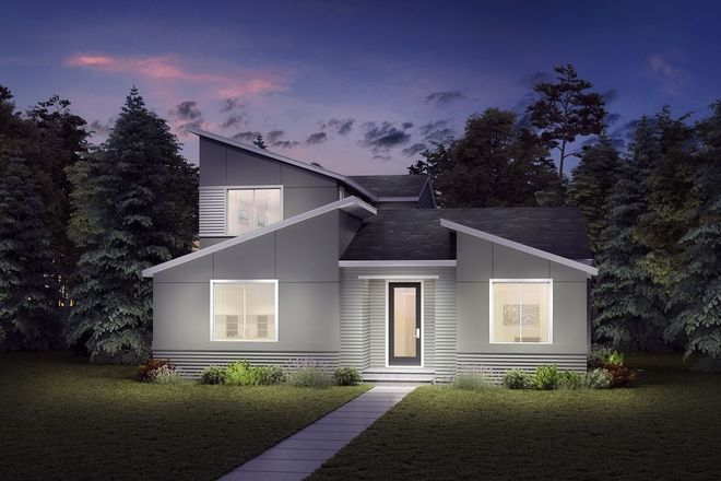 Ready To Build Home In Ten Trails - Cedarwood Collection Community