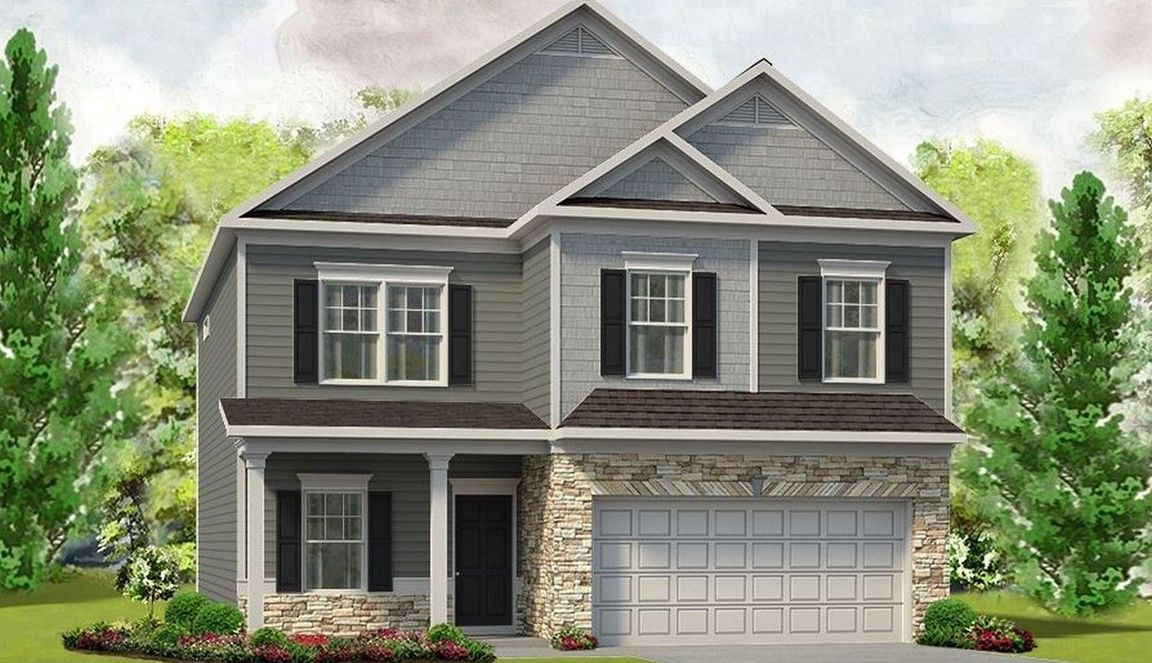 Ready To Build Home In Cotton Row Estates Community