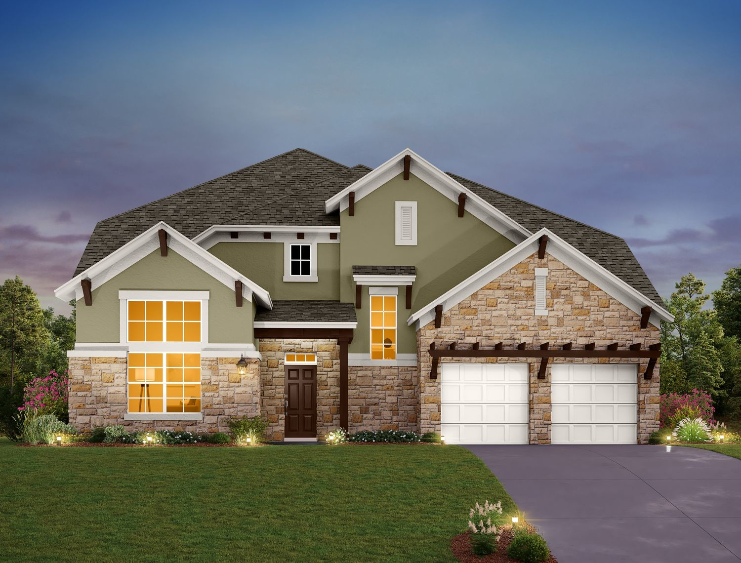 Ready To Build Home In Provence Community