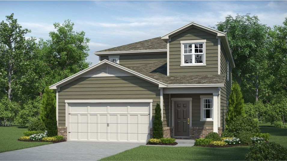 Ready To Build Home In Pendergrass Glen Community
