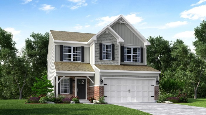 Ready To Build Home In Trails At Chatterton East Community