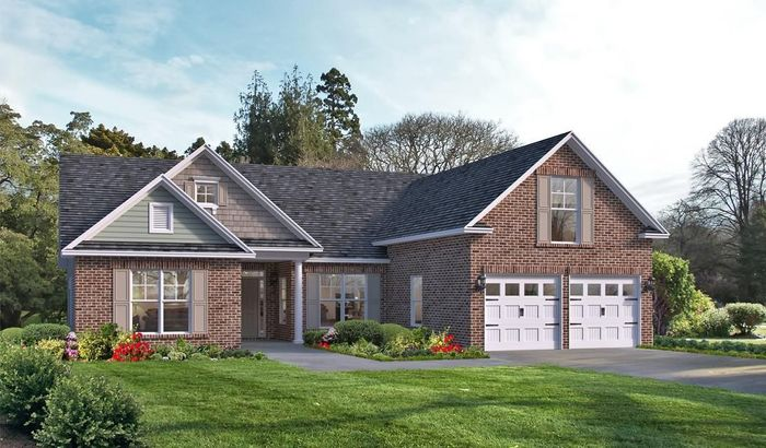 Ready To Build Home In Highland Falls Community