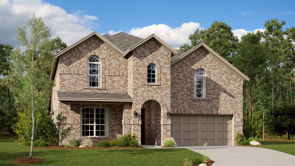 Ready To Build Home In Riverplace Brookstone Community