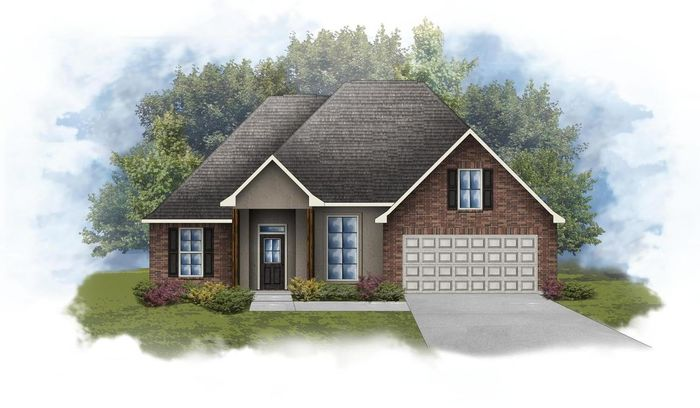 Ready To Build Home In Acadian Meadows Community