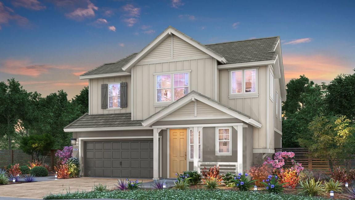 Ready To Build Home In The Parks at Bridge Pointe Community