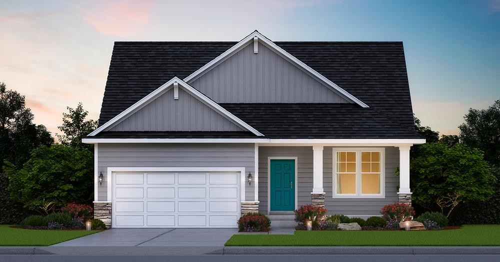Ready To Build Home In Boulder Ponds Community
