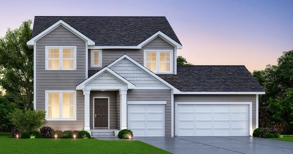 Ready To Build Home In Easton Village Community