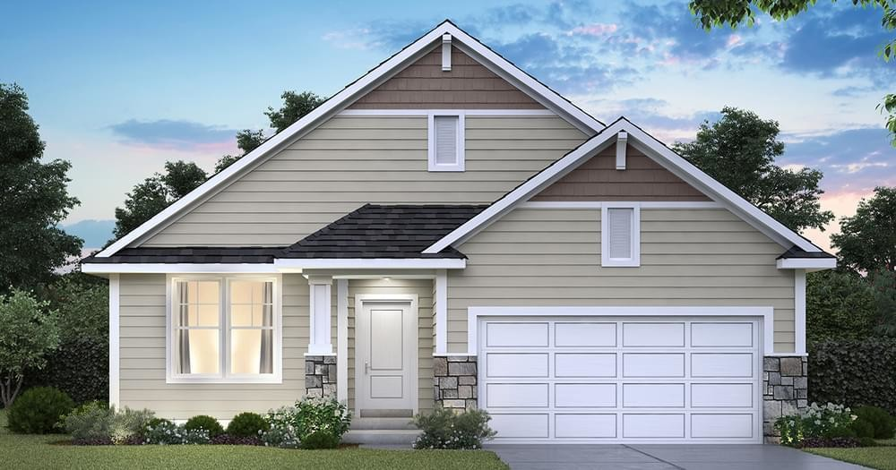Ready To Build Home In Glen View Farm Community
