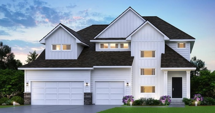 Ready To Build Home In Oakwood Ponds Community