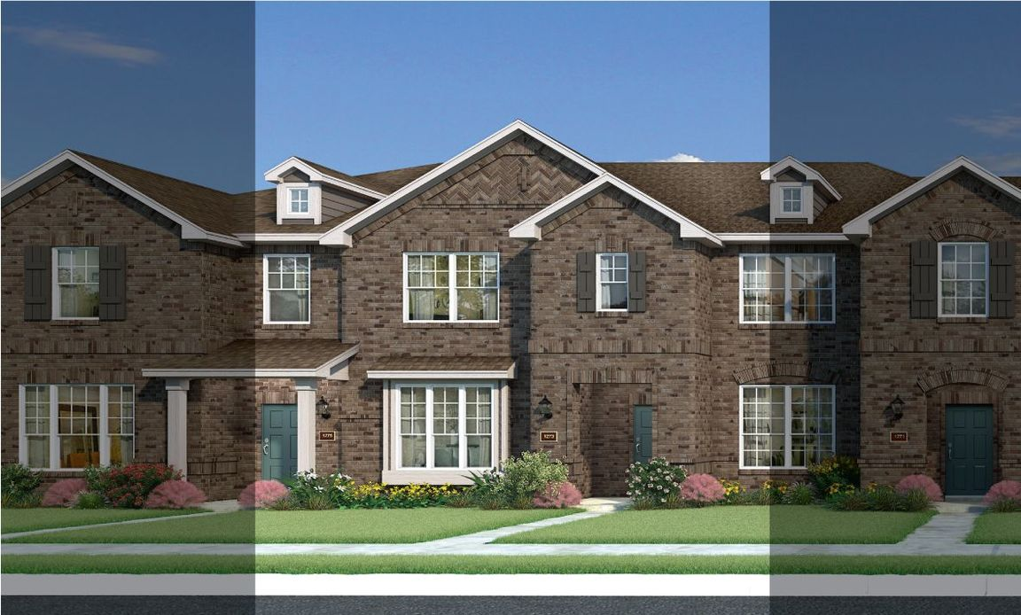 Ready To Build Home In Heritage Trails Townhomes Community