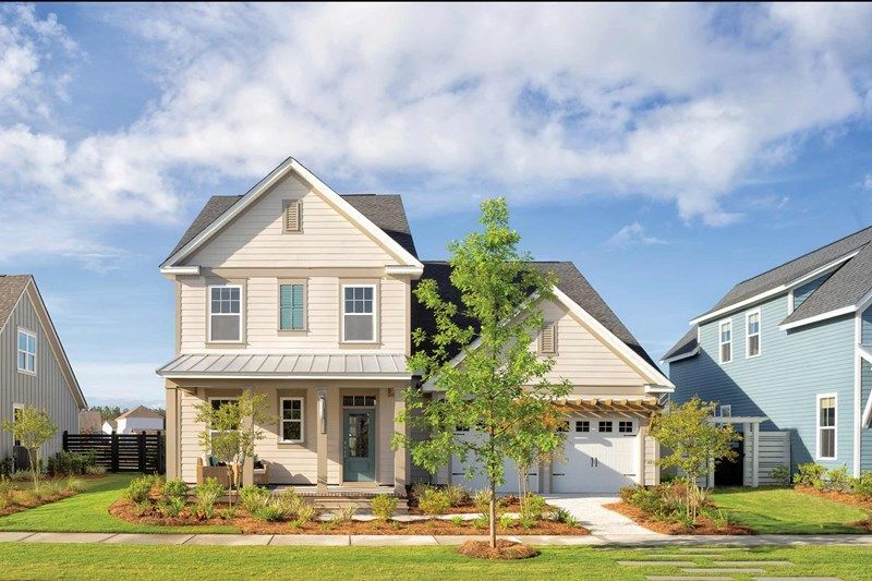 Ready To Build Home In Nexton - Midtown - The Village Collection Community