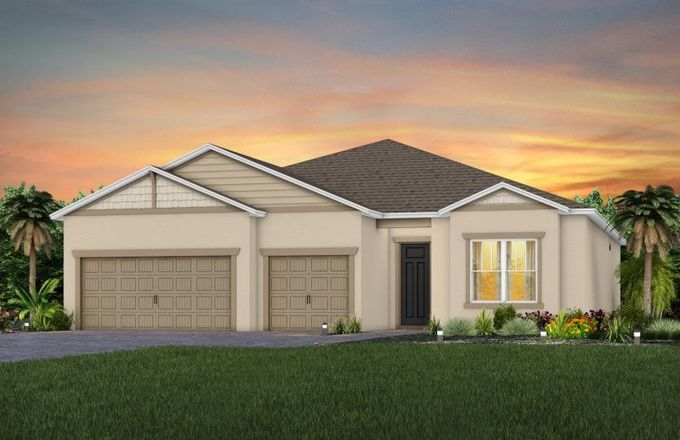 Ready To Build Home In Lakeview Preserve Community