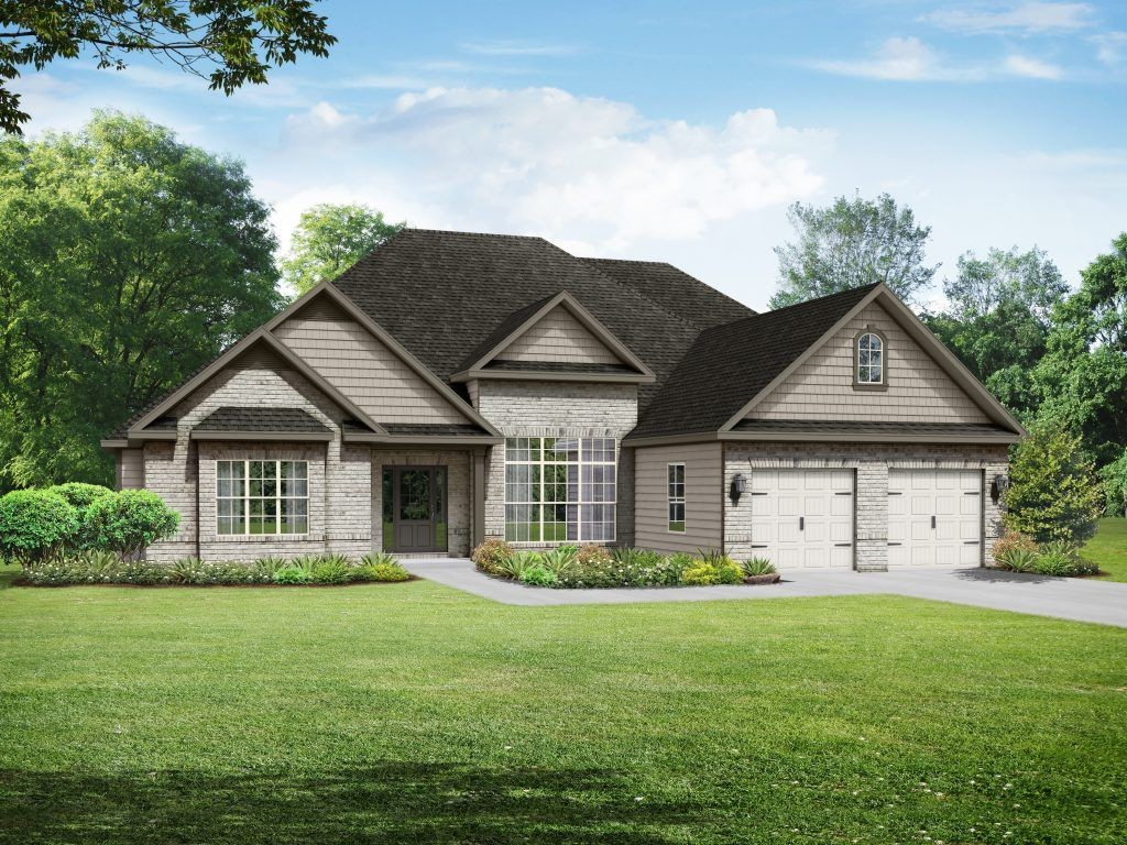 Ready To Build Home In Union Crossing Community