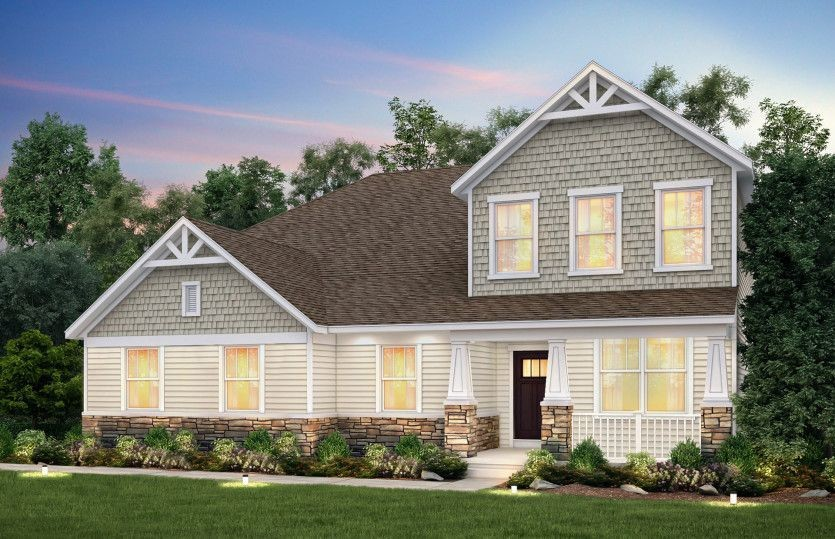 Ready To Build Home In Chasewood at Highland Woods Community