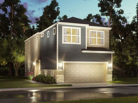 Move In Ready New Home In Spring Brook Village - Townhome Collection Community