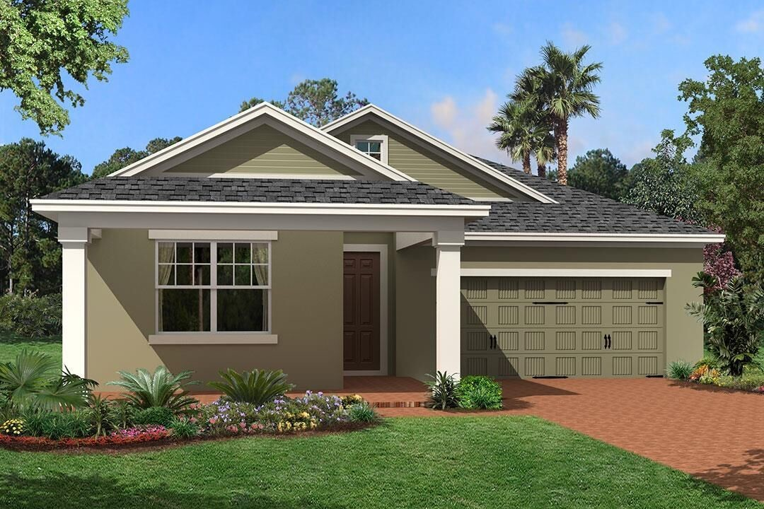 Ready To Build Home In Rivington Community