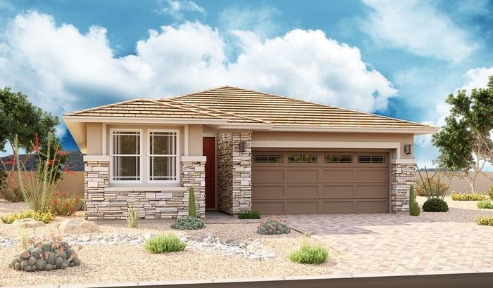 Ready To Build Home In Pinnacle at Northpointe at Vistancia Community