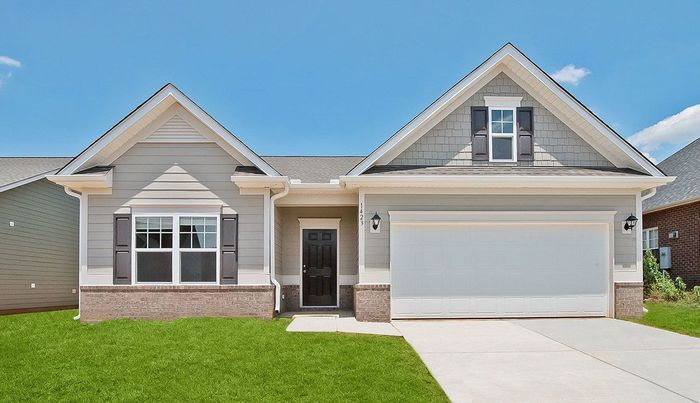 Ready To Build Home In Crossings at Drakes Branch Community