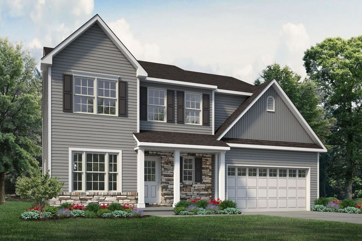 Ready To Build Home In Oxford Ridge Community