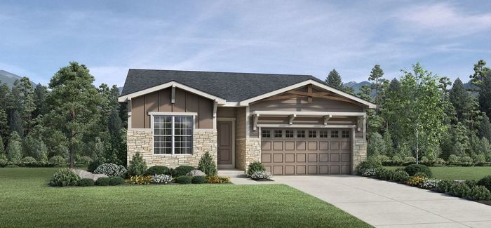 Ready To Build Home In Regency at Montaine - Jefferson Collection Community