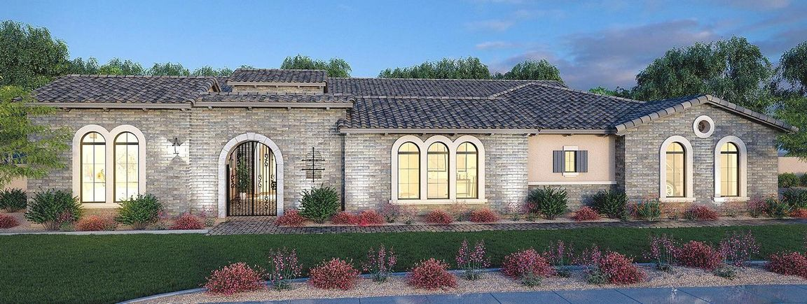 Ready To Build Home In Estates at Mandarin Grove Community
