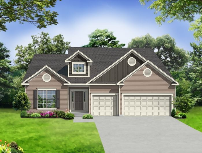 Ready To Build Home In Windsor Park Community