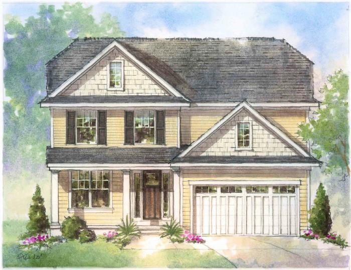 Ready To Build Home In Winding Creek Community