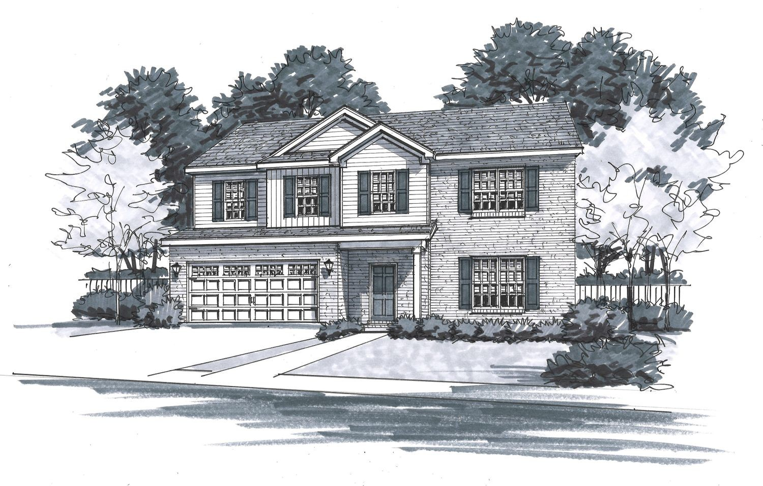 Ready To Build Home In Old Stone Community