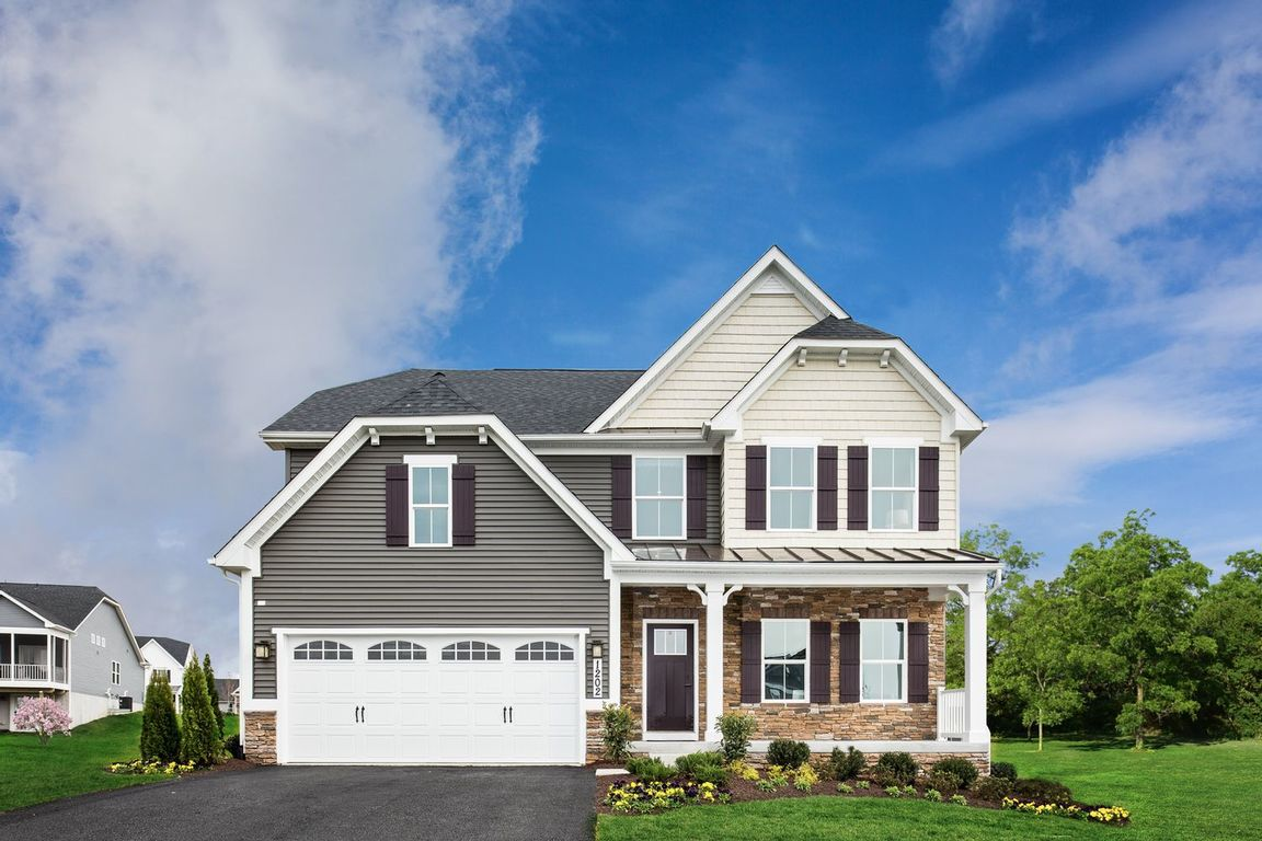 Ready To Build Home In Blue Ridge Single Family Homes Community