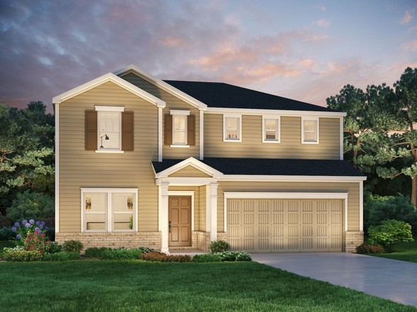 Ready To Build Home In Reserve at Redcroft Community