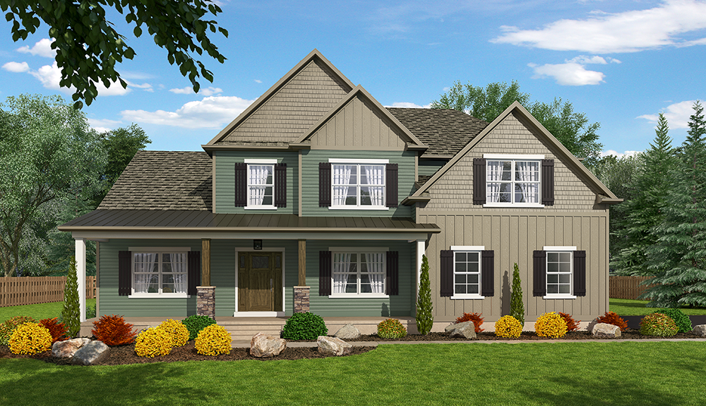 Ready To Build Home In Steeple View Neighborhood Community