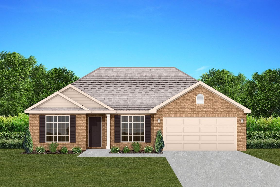 Ready To Build Home In Dawson's Mill Community