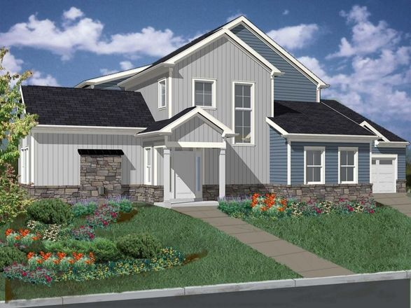 Ready To Build Home In Yardley Preserve Community