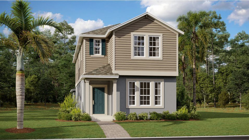 Ready To Build Home In Waterside - The Cove Community
