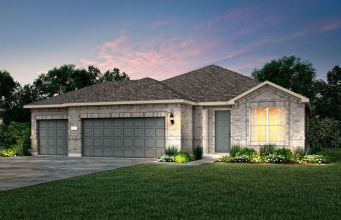 Ready To Build Home In Gregg Ranch Community