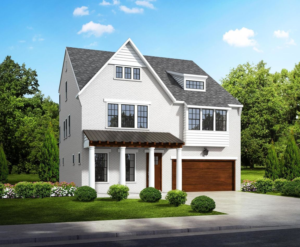 Ready To Build Home In The Enclave at Dunwoody Park Community