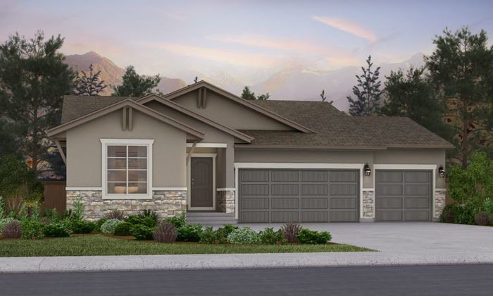 Ready To Build Home In Sterling Ranch Community