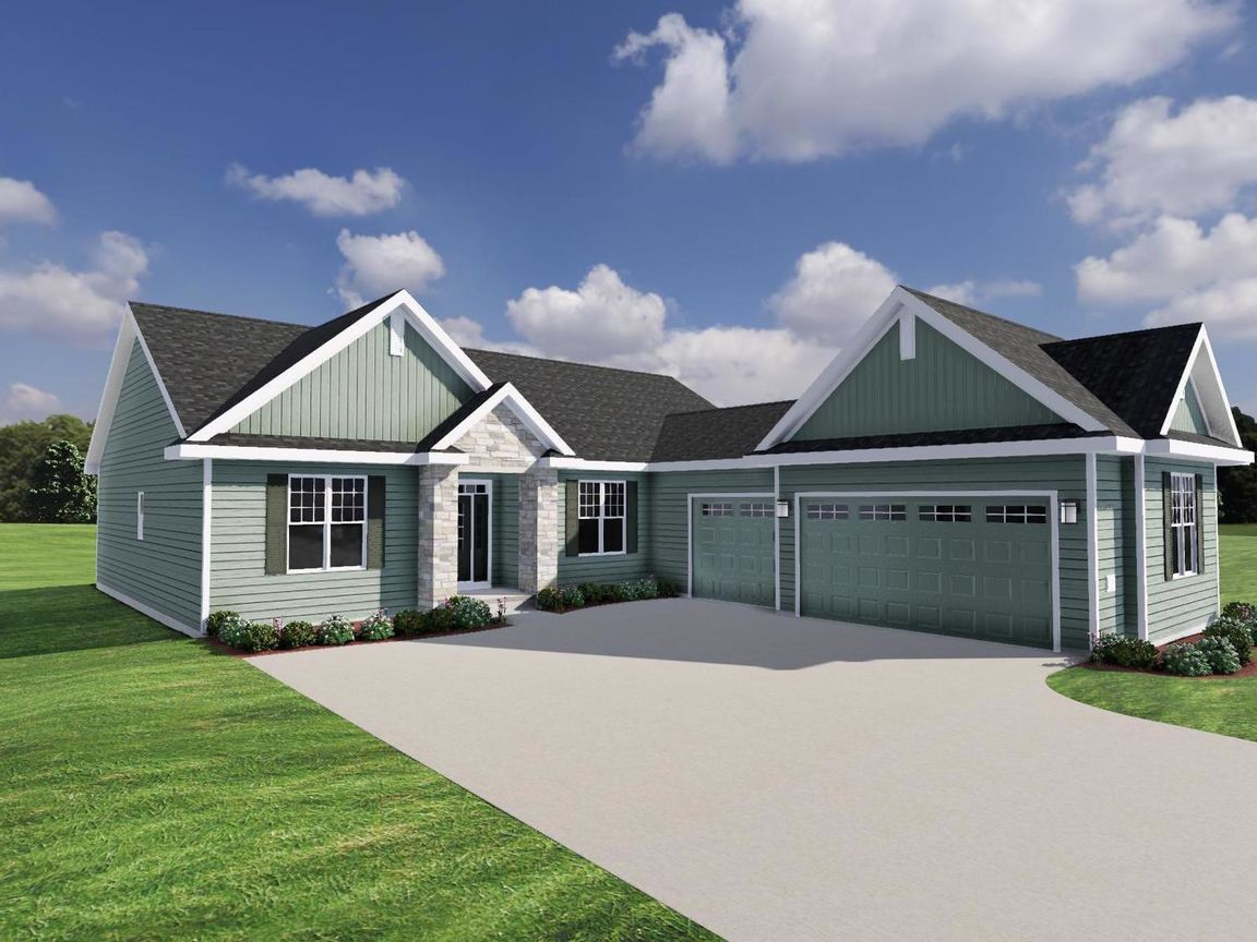 Ready To Build Home In The Enclave at Mequon Preserve South Community