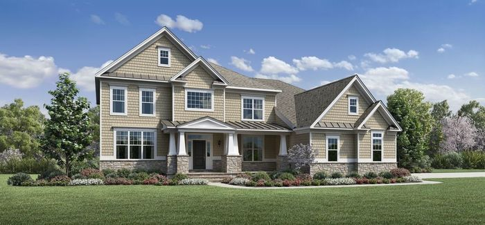 Ready To Build Home In Canton Reserve Community