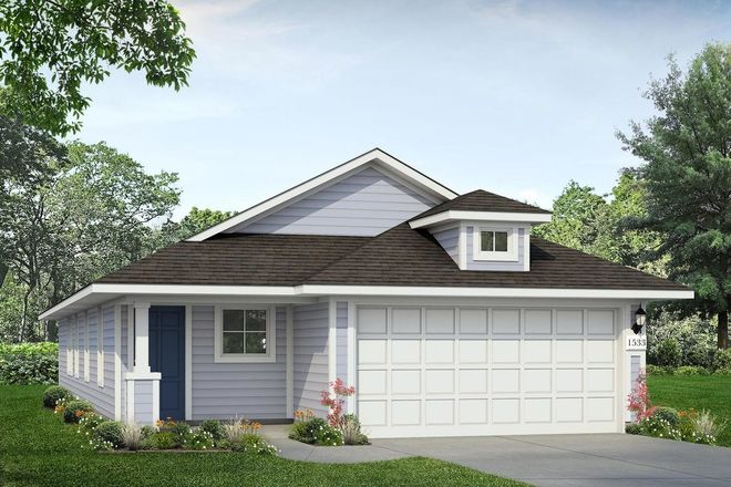 Ready To Build Home In Cloverleaf Community
