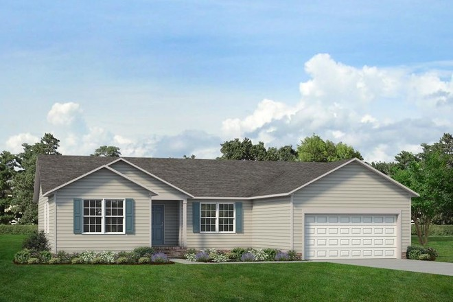 Ready To Build Home In ValueBuild Homes - Pinehurst - Build On Your Lot Community