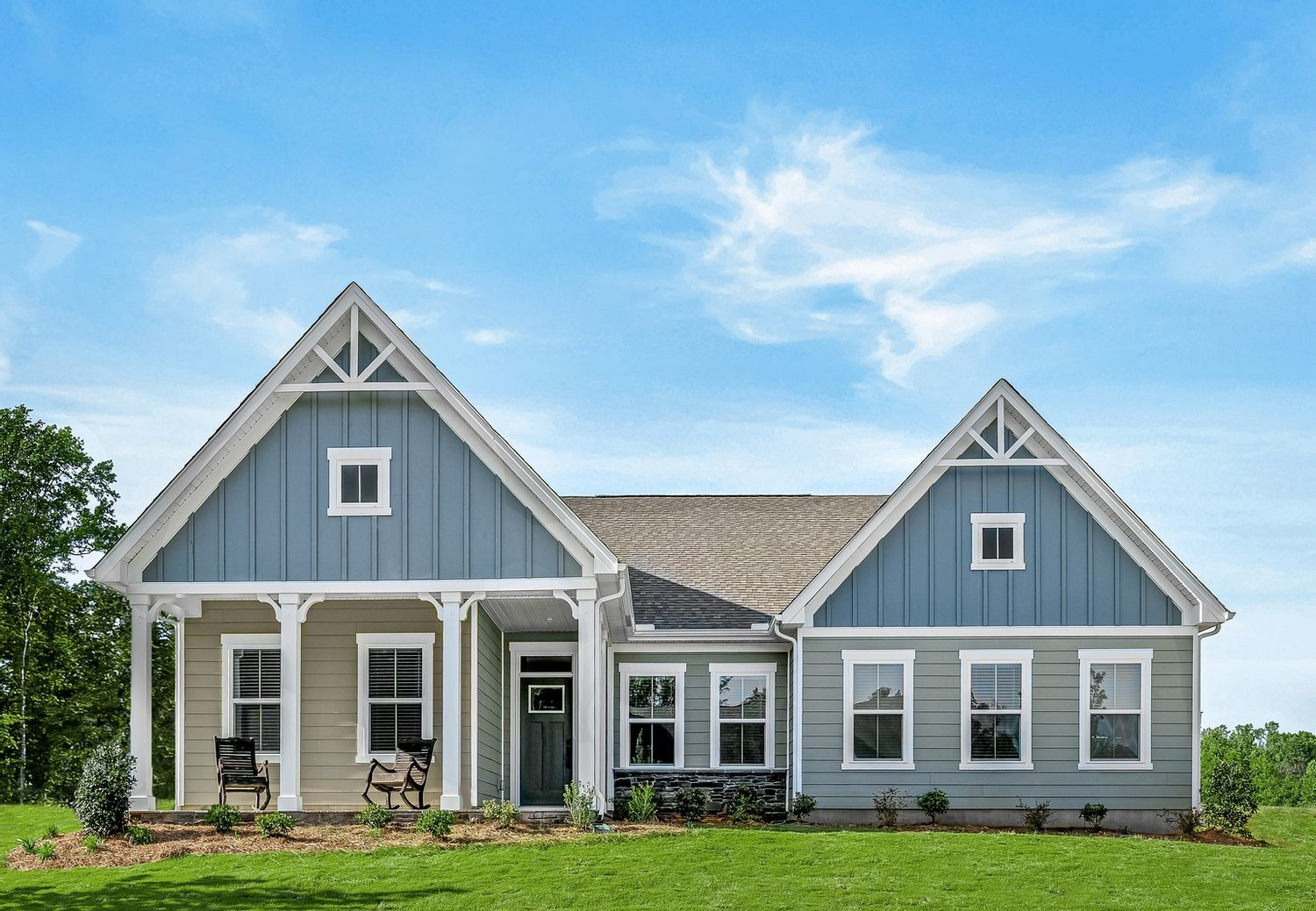 Ready To Build Home In Fawn Lake Community