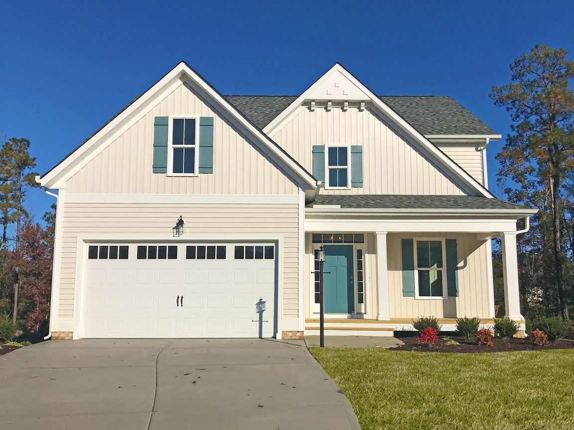 Ready To Build Home In New Market at Rountrey Community