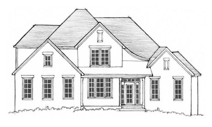 Ready To Build Home In Henley at Hillsboro Community