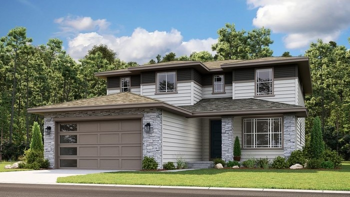 Ready To Build Home In Trails at Crowfoot City Collection Community