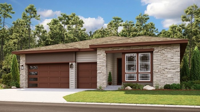 Ready To Build Home In Trails at Crowfoot Destination Collection Community
