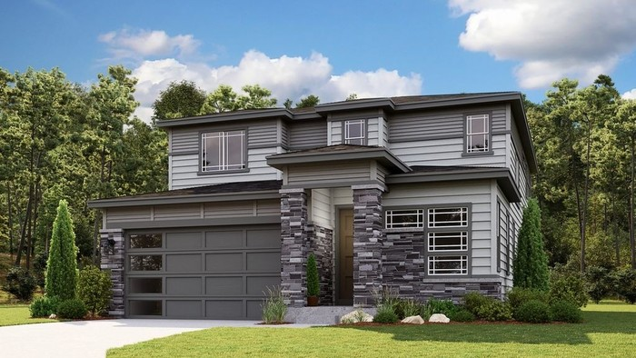 Ready To Build Home In Trails at Crowfoot Town Collection Community