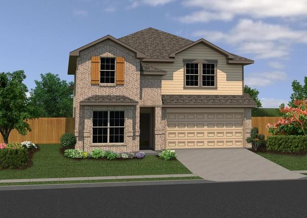 Ready To Build Home In Highland Grove Community