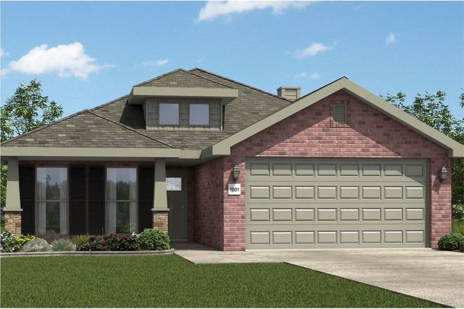 Ready To Build Home In Greystone Community