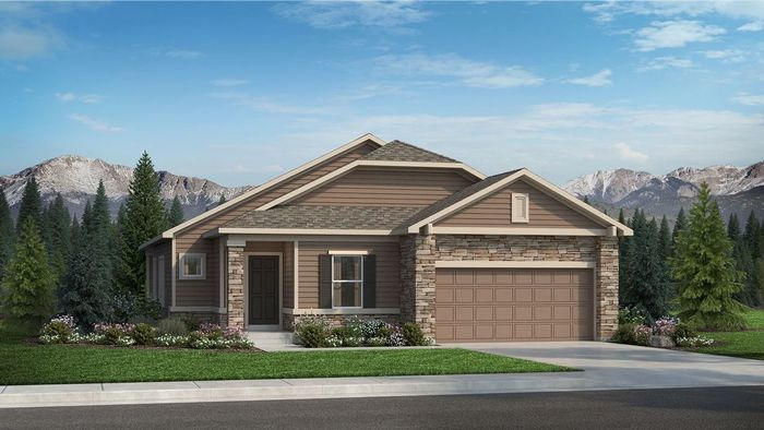 Ready To Build Home In Revel at Wolf Ranch Community